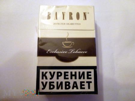 Duże zdjęcie Papierosy Bayron Exclusive Tobacco