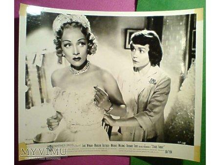 Duże zdjęcie Marlene Dietrich Alfred Hitchcock TREMA 1950