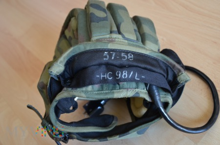 Hełmofon letni z mikrofonem HC 98/L