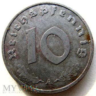 Duże zdjęcie 10 reichspfennigów 1944 Niemcy (Trzecia Rzesza)