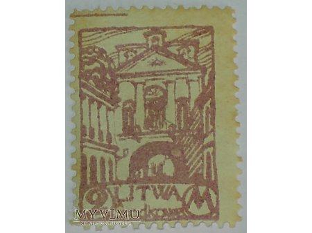2 M znaczek z Litwy Środkowej