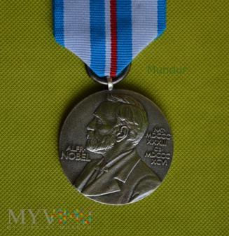 Medal ONZ - 25 rocznica nadania pokojowej nagrody