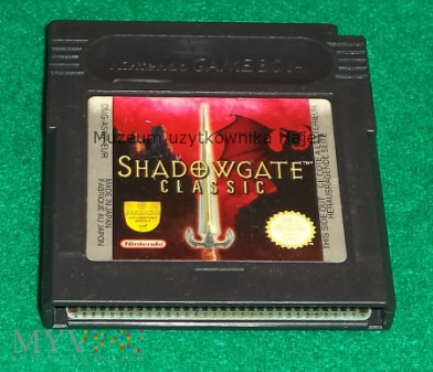 Shadowgate ClassicGame Boy Nintendo