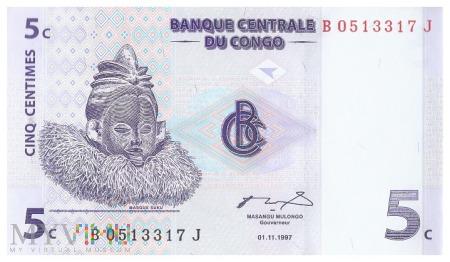 DR Kongo - 5 centymów (1997)