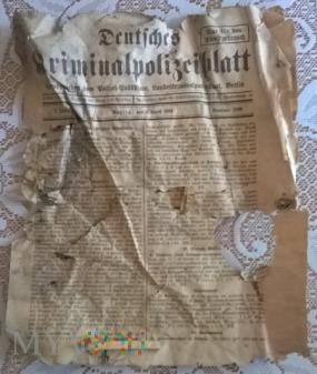 Deutsches Kriminalpilizeiblatt.