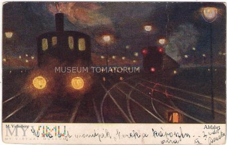 Vollmberg - Kolej nocą - Odjazd