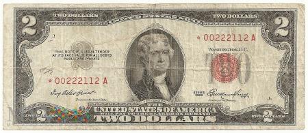 Stany Zjednoczone.4.Aw.2 dolary.1953.P-380r