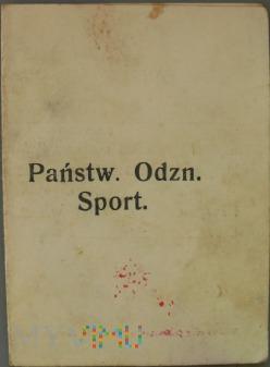Państwowa Odznaka Sportowa 1933