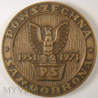 1971 - 41/71 - Powszechna Samoobrona 20 lat