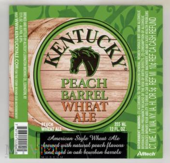 Kentucky Peach Barrel