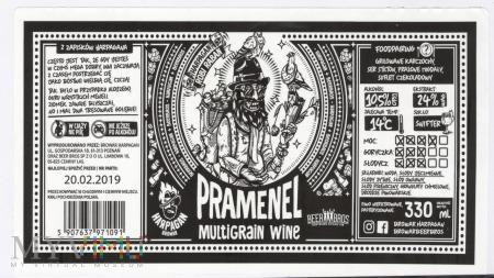 Harpagan, Pramenel