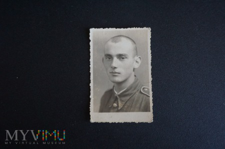 Pamiątkowe zdjęcie z wojska