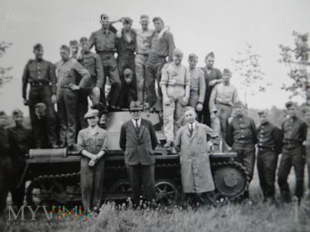 Panzerkampfwagen I szkolenie załóg