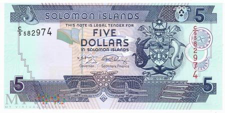 Wyspy Salomona - 5 dolarów (2009)