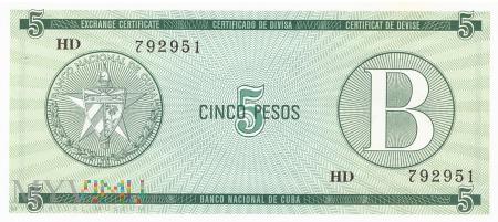 Kuba - 5 pesos (1985)