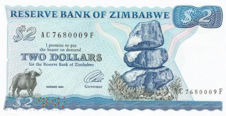 Zimbabwe - 2 dolary (1994)