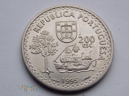 Duże zdjęcie 200 ESKUDOS 1995 - PORTUGALIA
