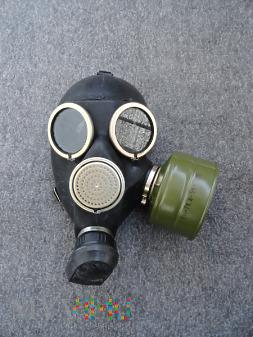 Radziecka maska p.gaz GP-7/PMK
