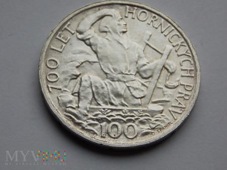 100 KORON 1949 - CZECHOSŁOWACJA
