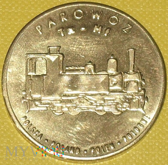 Medal pamiątkowy z Muzeum Kolejnictwa
