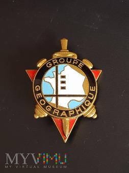 Odznaka Artyleryjskiej Grupy Geograficznej_Francja