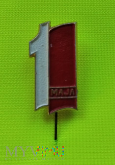 Przypinka 1-Maja