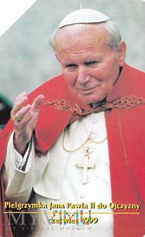 Karta telefoniczna - Pielgrzymka Jana Pawła II