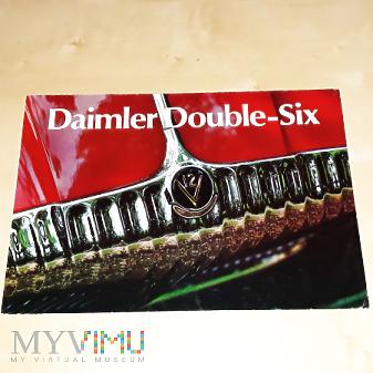 Duże zdjęcie Prospekt Daimler Double Six 1972