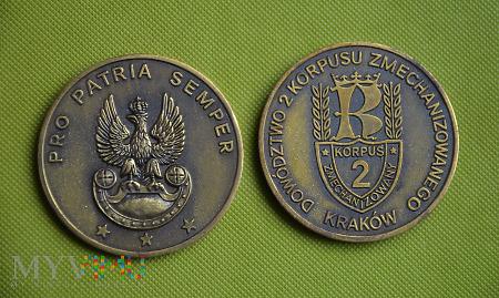 """Medal pamiątkowy """"2 Korpus Zmechanizowany"""""""