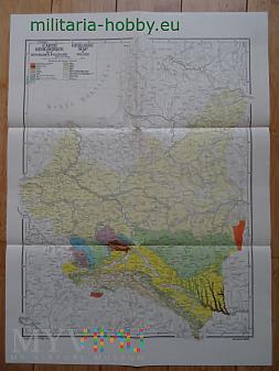 Mapa geologiczna II RP