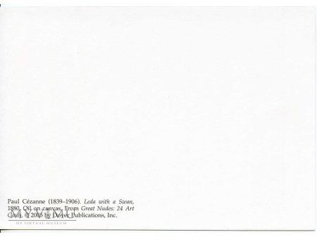 Cezanne - Leda z łabędziem