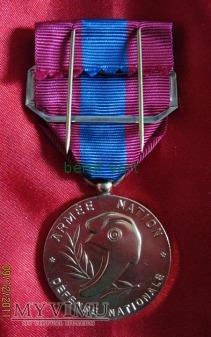 Médaille de la Défense nationale (brąz)
