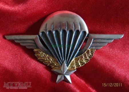 brevet parachutiste militaire - I