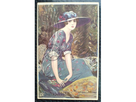kobieta i moda epoki ART DECO Tito CORBELLA
