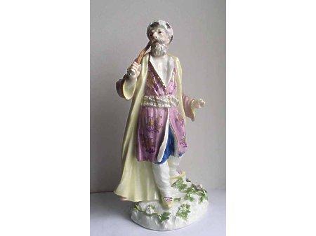 Miśnia figura mężczyzny XVIII wiek
