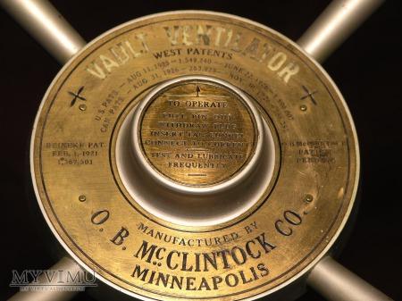 McClintock Vault Ventilator Plug-Small