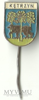 Kętrzyn - herb - znaczek