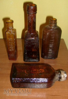 Duże zdjęcie Stare butelki