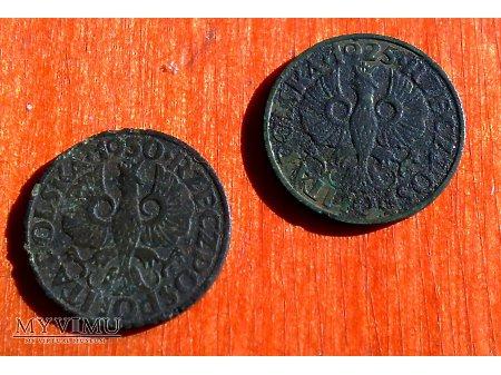 2 grosze z 1930 i 1925 r.