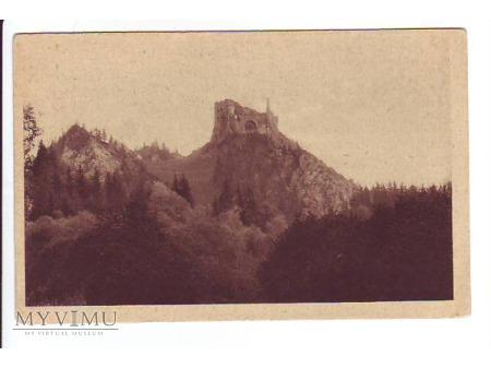 """SZCZAWNICA - Ruiny zamku """"Czorsztyn"""""""