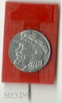 1 MAJA - odznaka - Lenin
