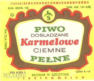 Browar Szczytno - Piwo dosładzane karmelowe ciemne