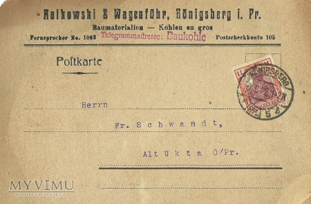 Konigsberg 06.031922 r.