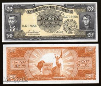 Philippines - P 137d - 20 Pesos - 1949