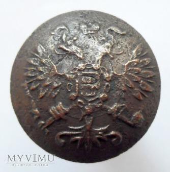 guzik wojskowy, Rosja, 1857 - 1917