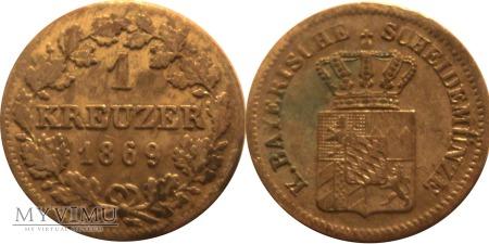 1 krajcar 1869
