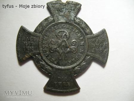 Krzyż ERINNERUNGSKREUZ FÜR 1866