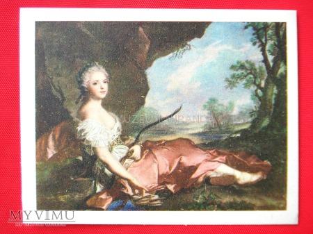 "Jean-Marc Nattier ""Córka Ludwika XV""(Adelajda)"