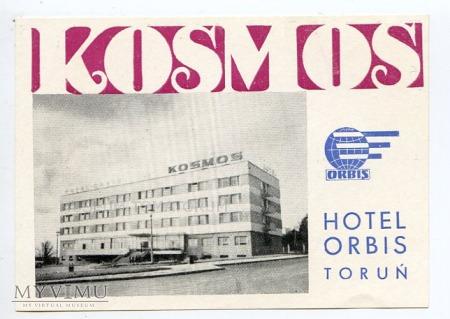 Naklejka hotelowa - Toruń - Hotel Kosmos