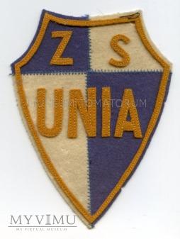 Duże zdjęcie Naszywka - ZS Unia - ok. 1960